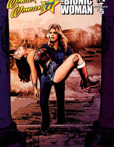 Wonder Woman 77 Meets the Bionic Woman #5 - April 2017