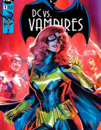 DC vs. Vampires #1 (Felipe Massafera Trade Variant) - October 2021
